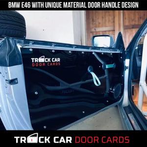 Image of BMW e46 - New Handle Design - Full Door - Track Car Door Cards