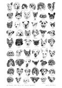 Image of LGBTQ+ and Allies' pets Win prizes Opening Doors London Fundraising Tea Towel