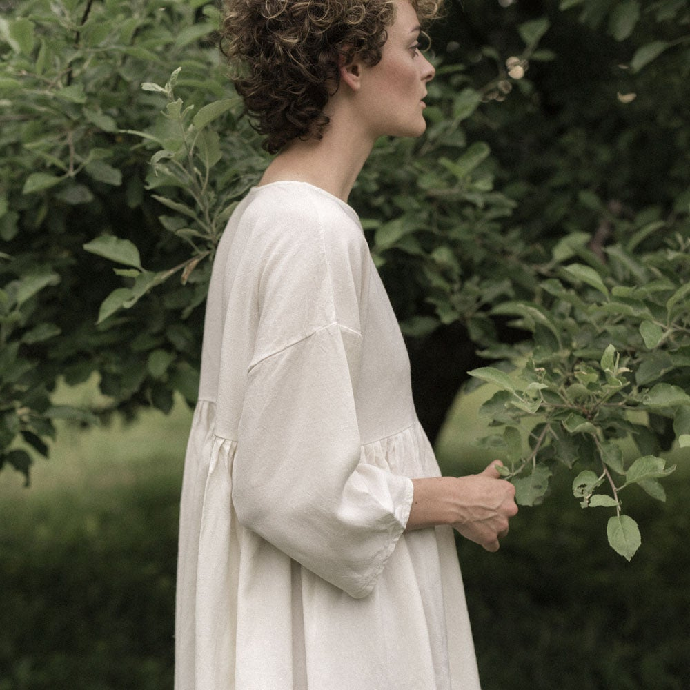 Image of Linen Ruffle Tunic
