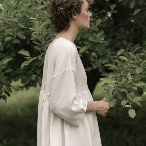 Image of Linen Ruffle Tunic