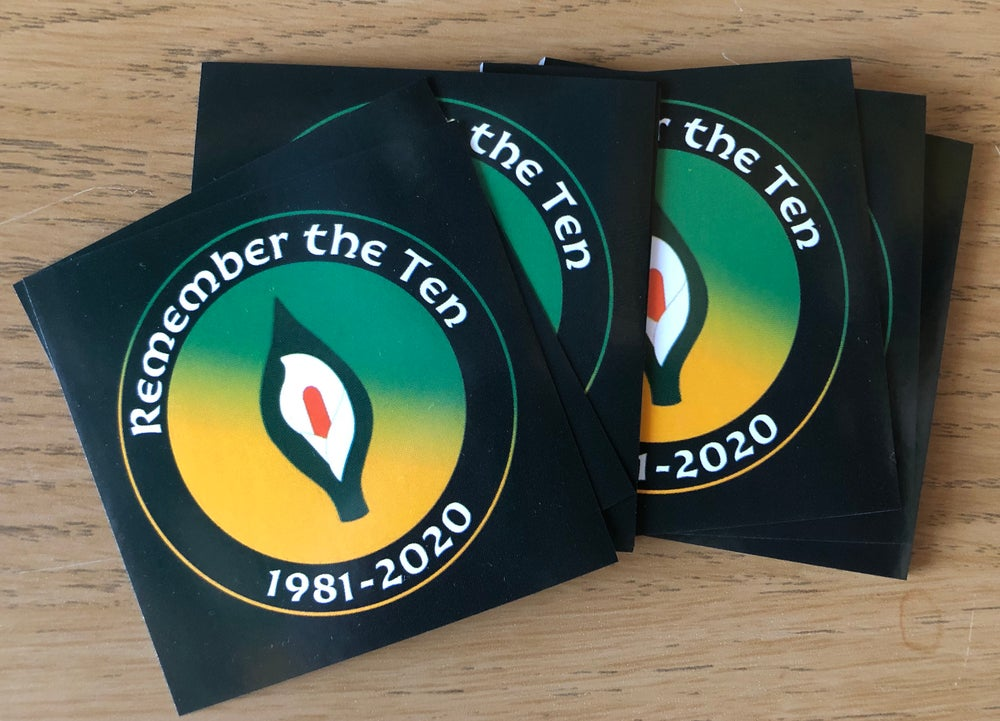 Hunger Strikers Stickers