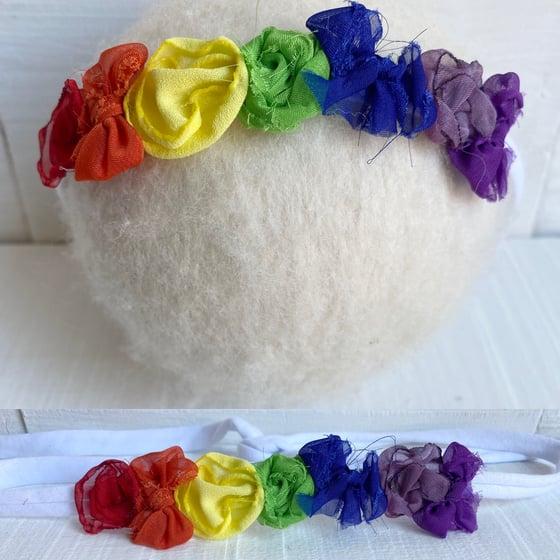 Image of Rainbow tiebacks