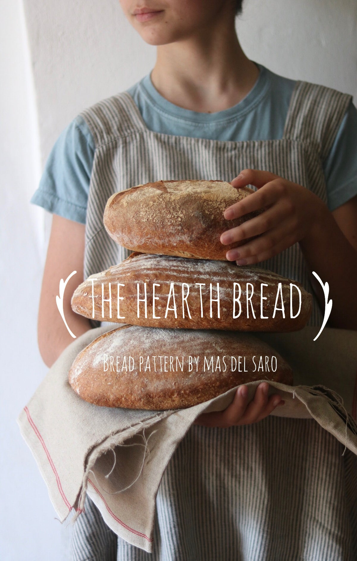 "Image of 🇬🇧 Bread Pattern ""The Hearth Bread"" + free booklet ""My first Sourdough Starter"""