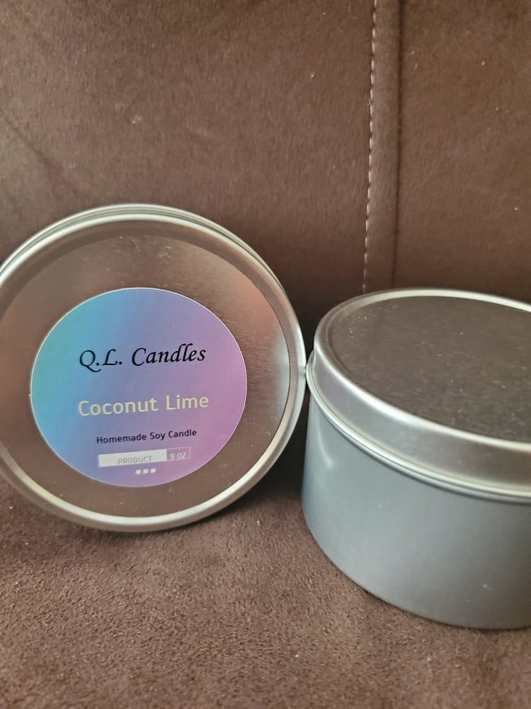 Image of Homemade Soy Candle 8 oz.