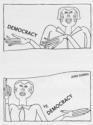 Image of Democracy vs. Democracy by João Sobral