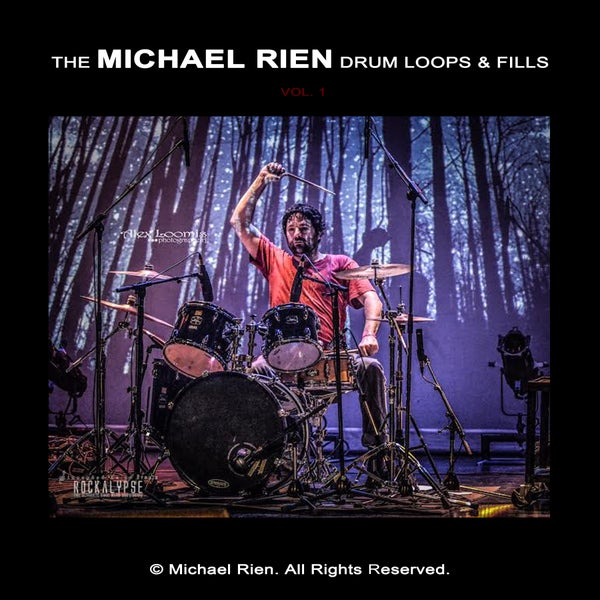 Image of The Michael Rien Drum Loops & Fills Vol. 1 (Performed with Acoustic Drums)