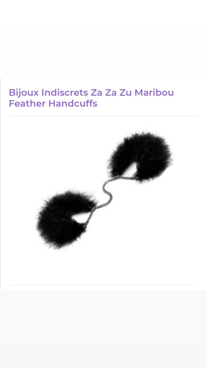 Image of Bijoux Feather Handcuffs