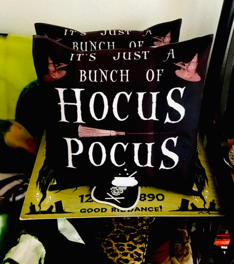 Image of Hocus Pocus Pillow