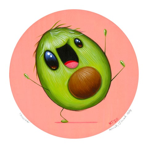 "Image of ""Avocado"" Mini Print"