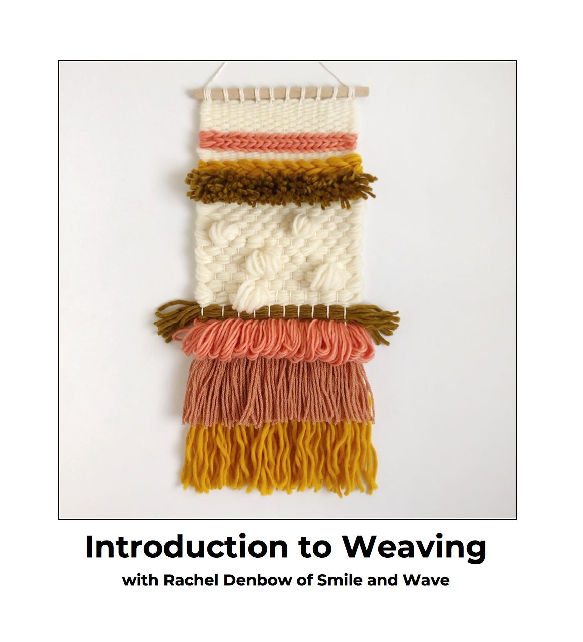 Image of Beginner's Cherry Weaving Kit - Hold