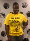 We Exist T-shirt (YELLOW)