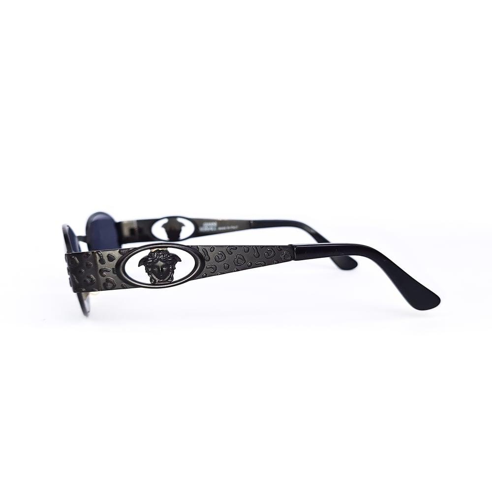 Image of Gianni Versace Black Medusa Sunglasses Mod.S50