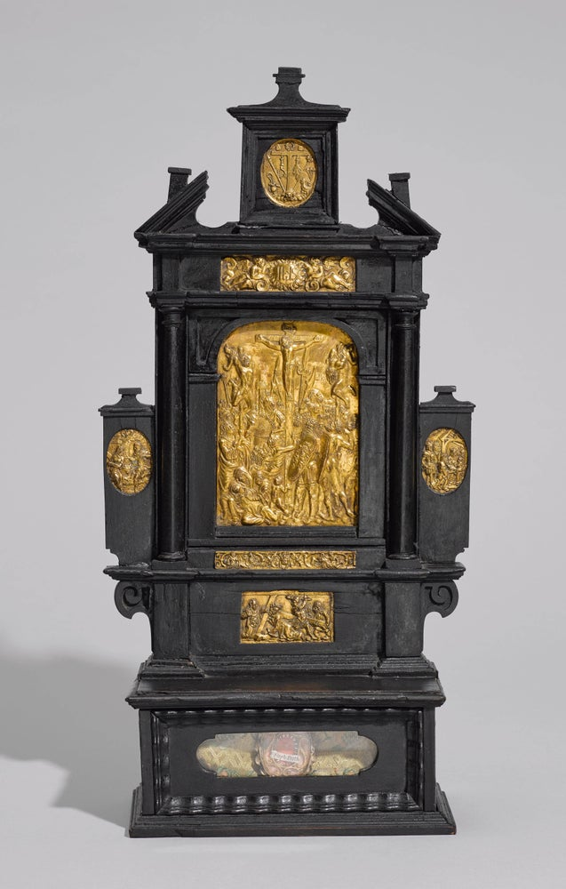 "Image of  South German Renaissance House Altar attributed to the ""Augsburger Plakettenwerkstatt"""