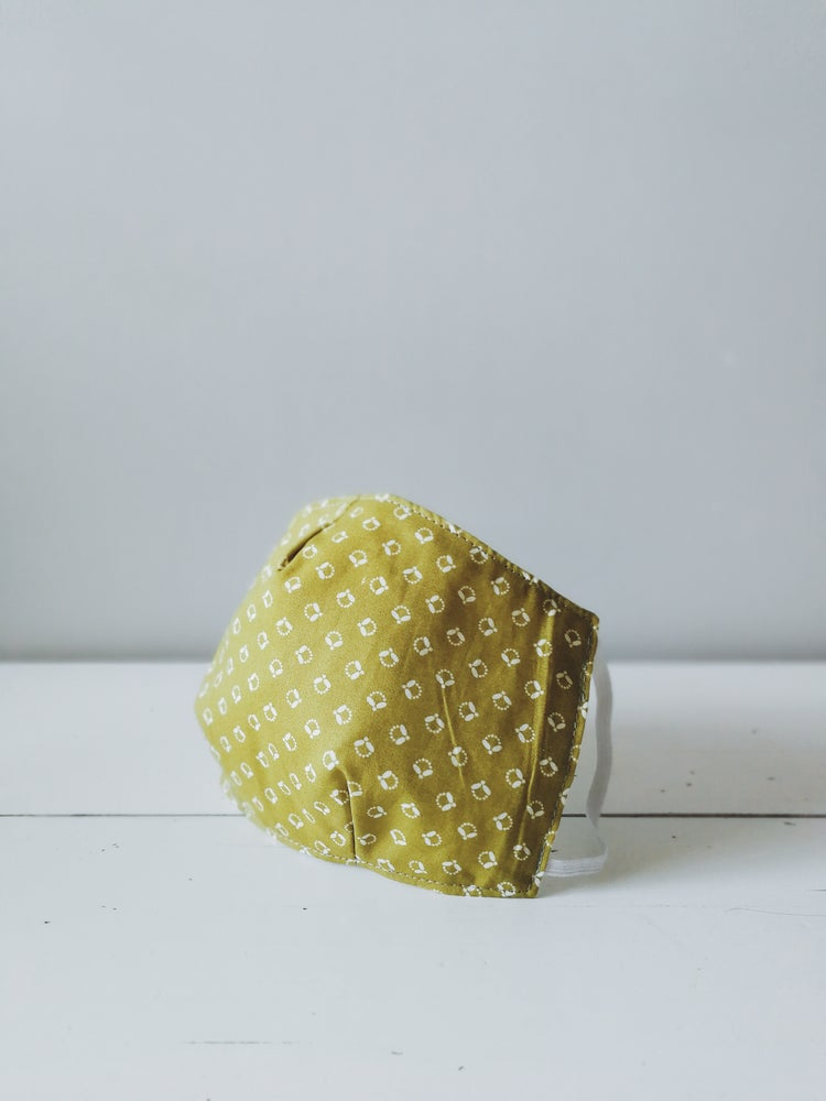 Image of Face Coverings (Lime Green Japanesque)