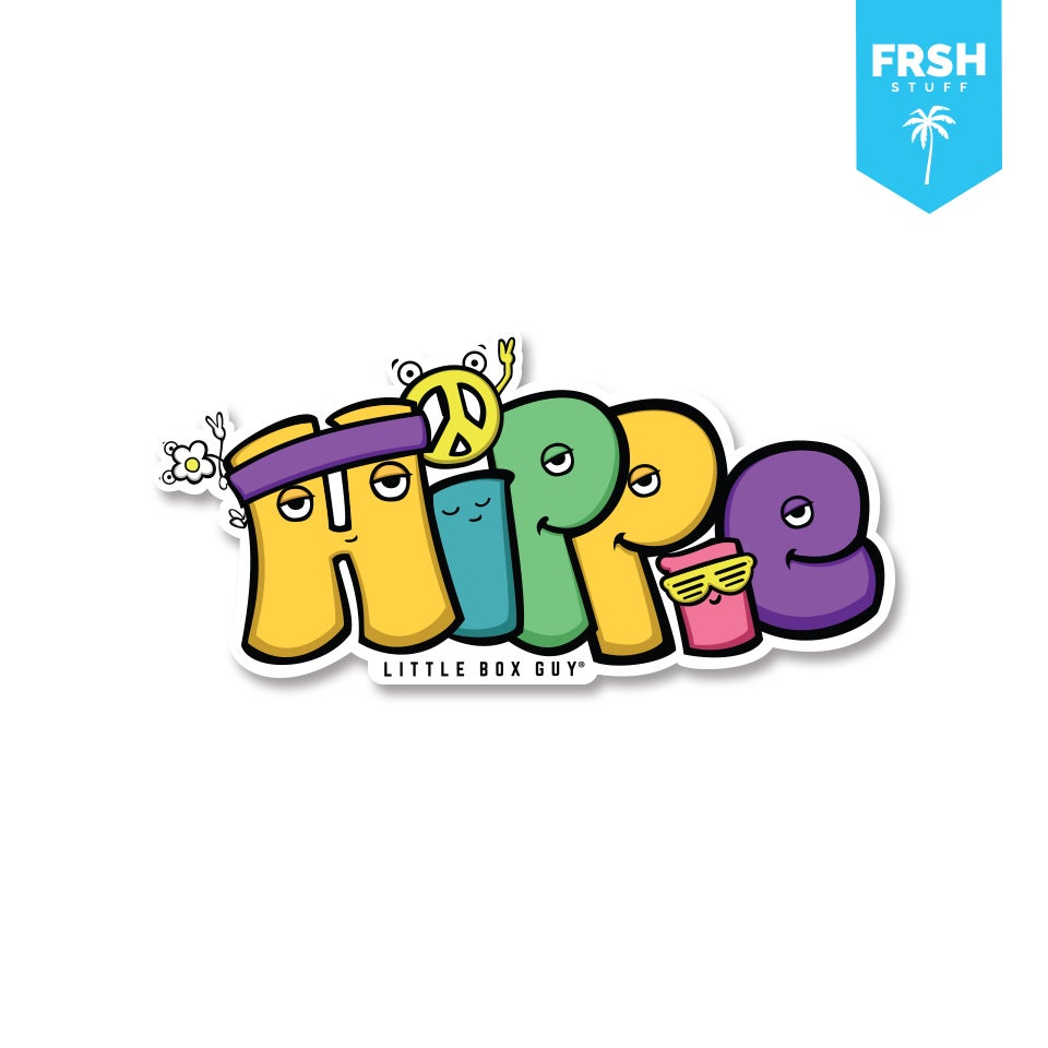 Image of Hippie (Die-cut Sticker)