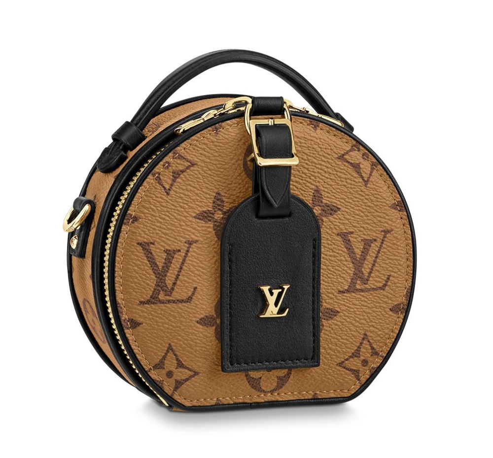 Image of Louis Vuitton Mini Boite Chapeau Multi Color Monogram Canvas Reverse Cross Body Bag