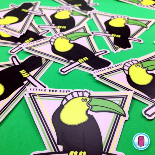 Image of Toucan (Die-cut Sticker)