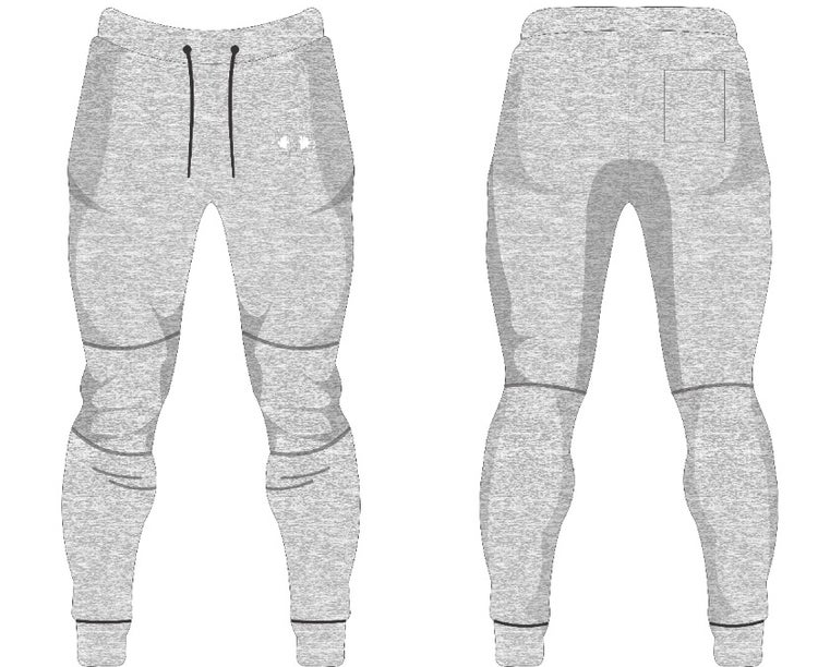 Image of PMA Fitwear Grey Joggers