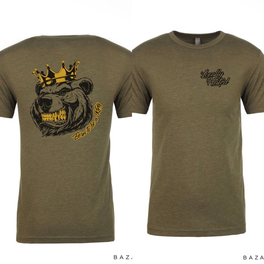 Image of Born to be a king T-shirt