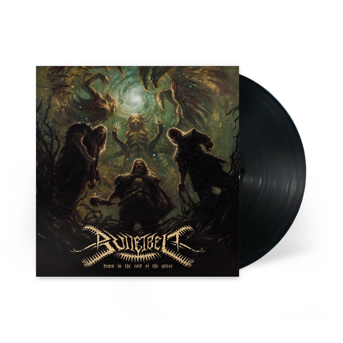 """Image of Bulletbelt """"Down in the Cold of the Grave"""" LP"""