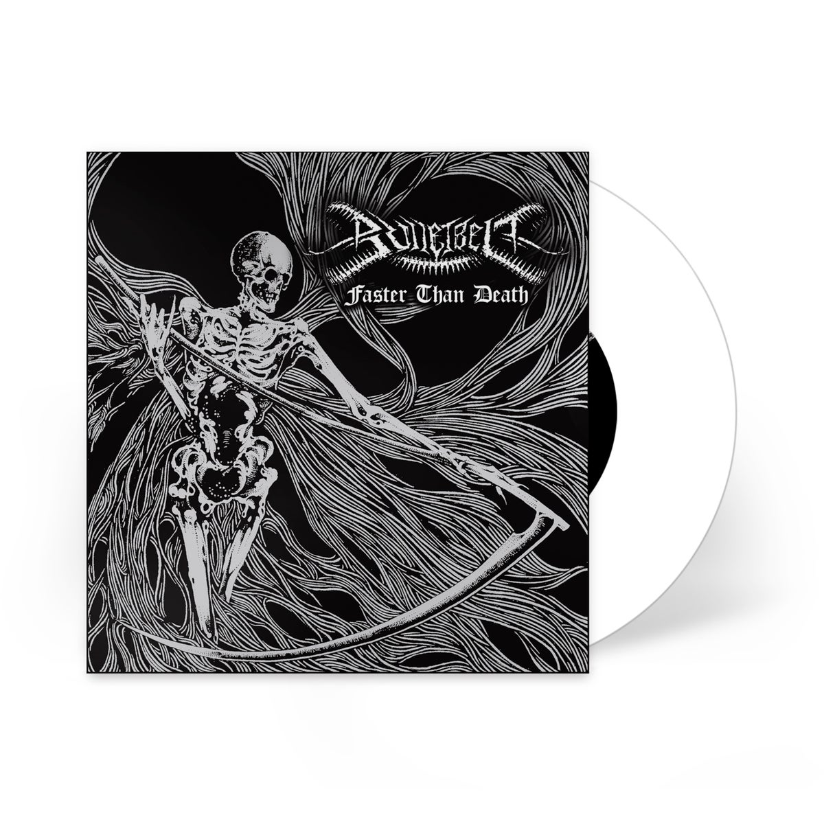 """Image of Bulletbelt """"Faster Than Death"""" 7 inch LP"""