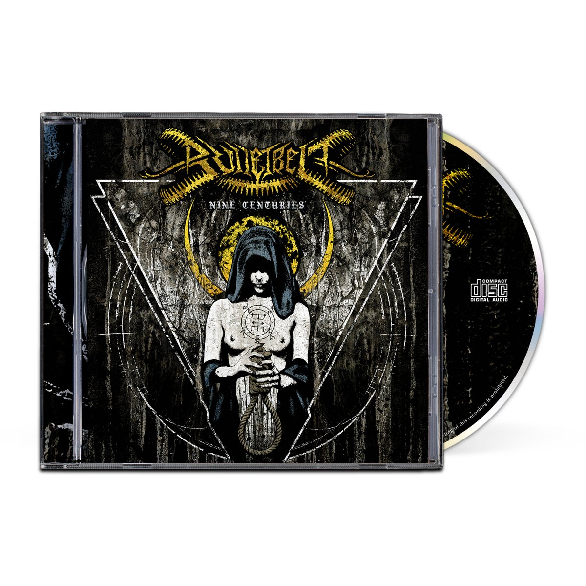 "Image of Bulletbelt ""Nine Centuries"" CD"