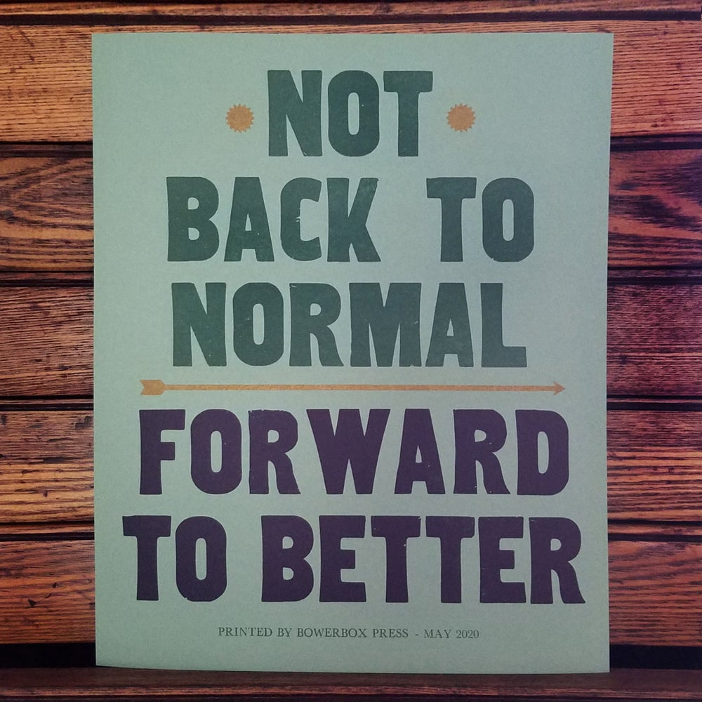 Image of Forward to Better Poster
