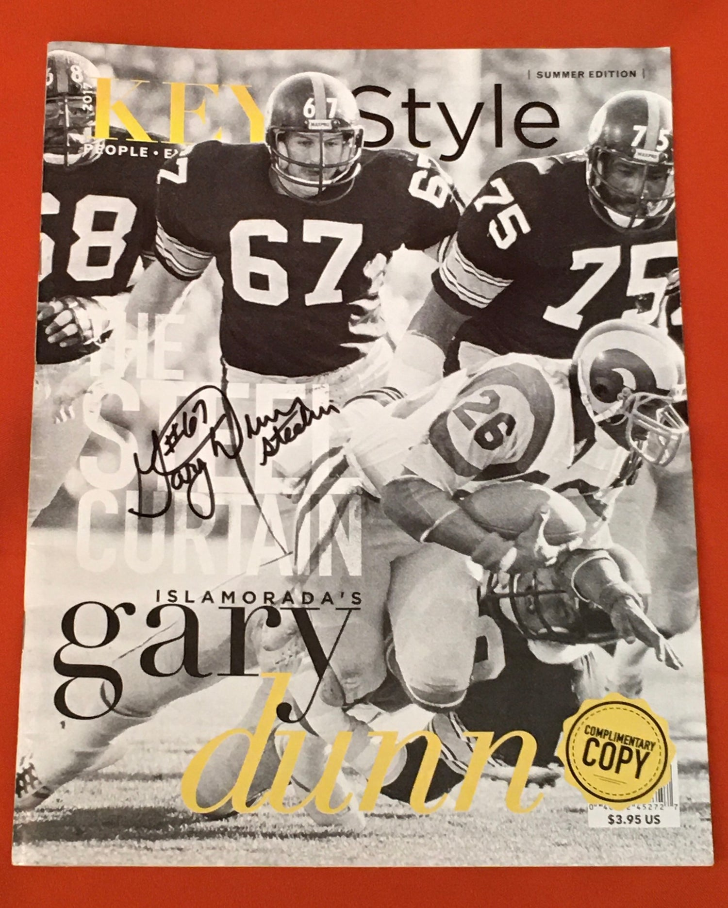 Image of Gary Dunn Signed Keys Style Magazine