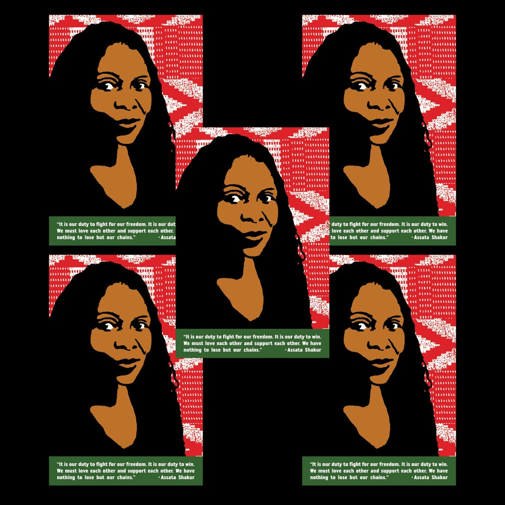 Image of Assata Shakur Postcard Pack (Five Copies)