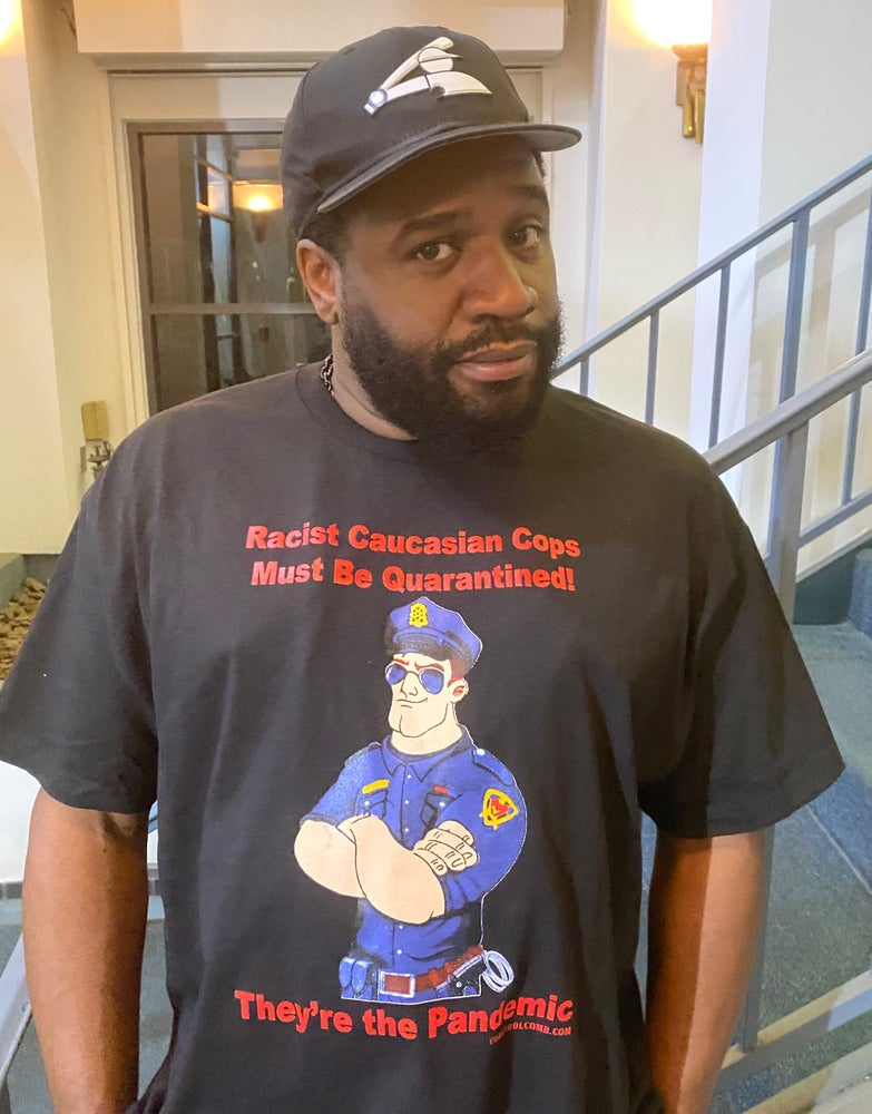 Image of Racist Cops Are the pandemic