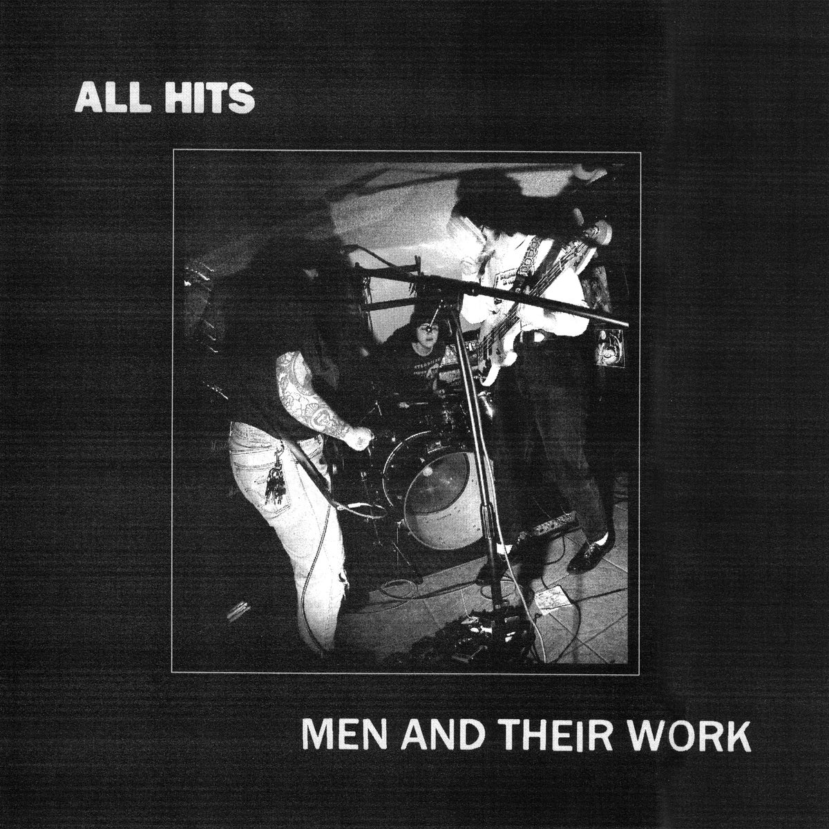 Image of ALL HITS - Men And Their Work LP