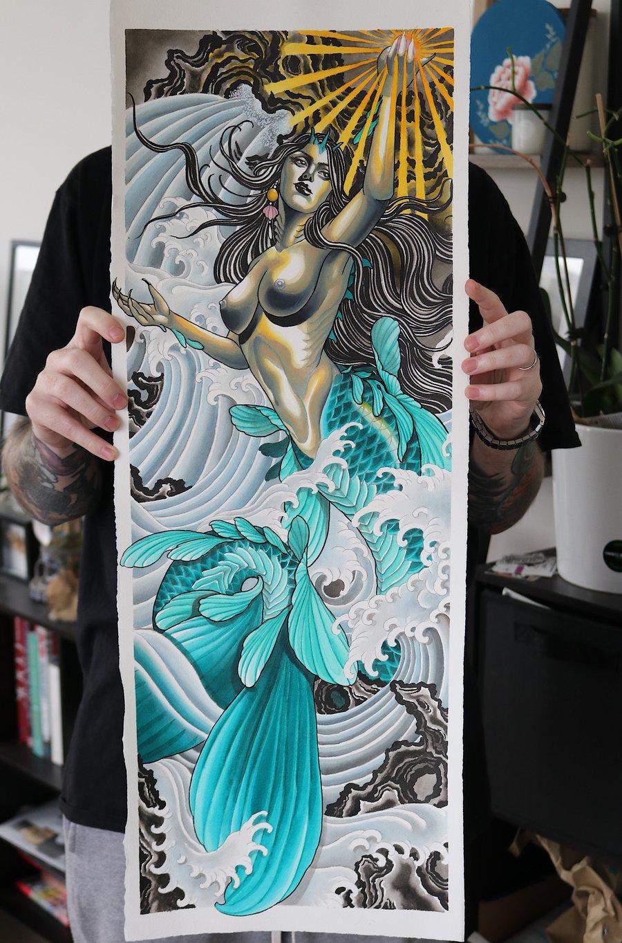 Image of Mermaid Print