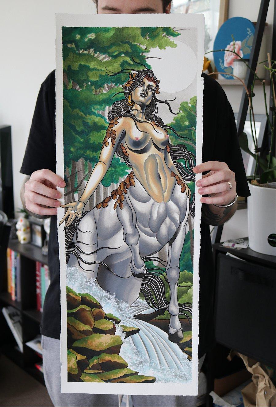 Image of Centauress Print