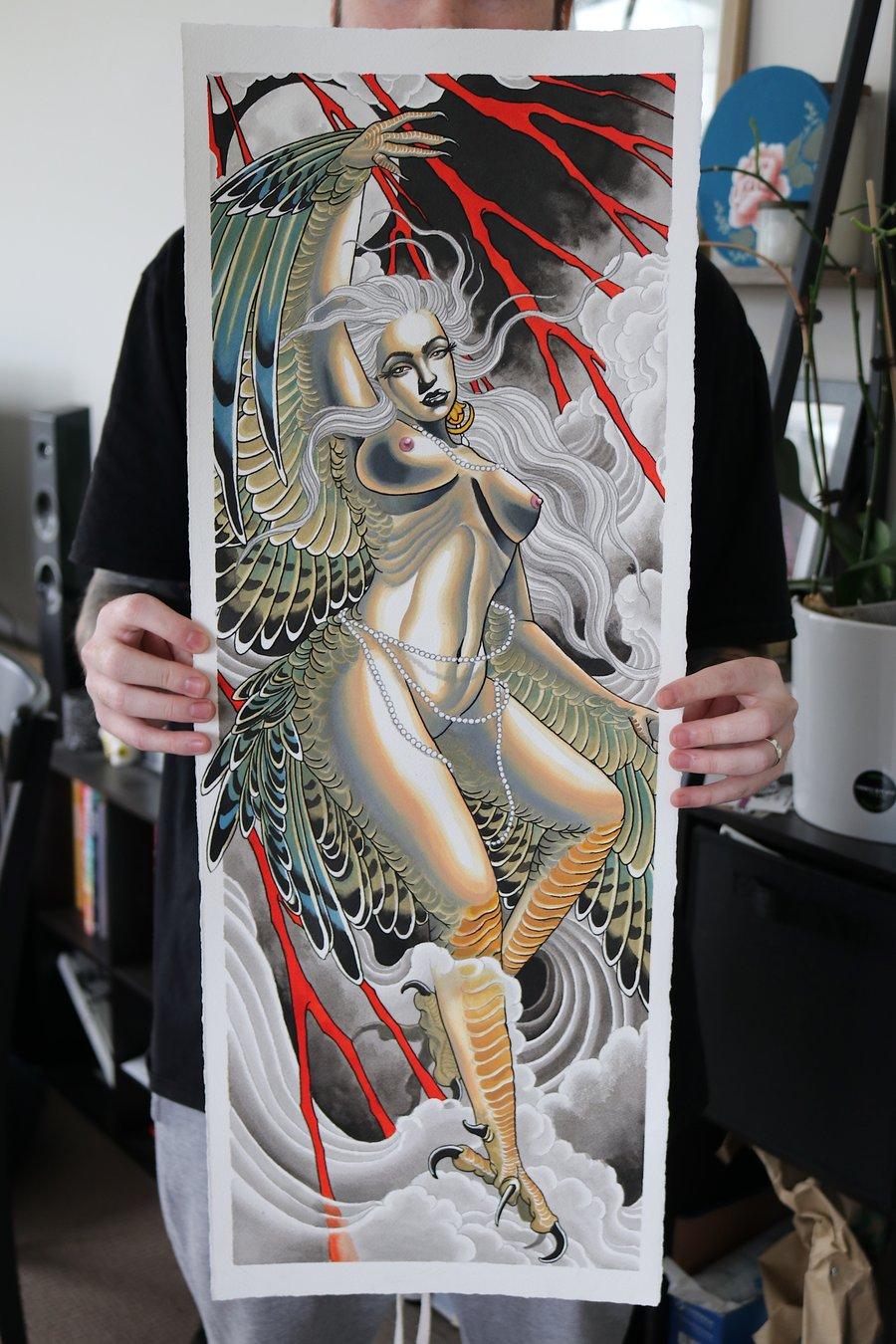 Image of Harpy Print