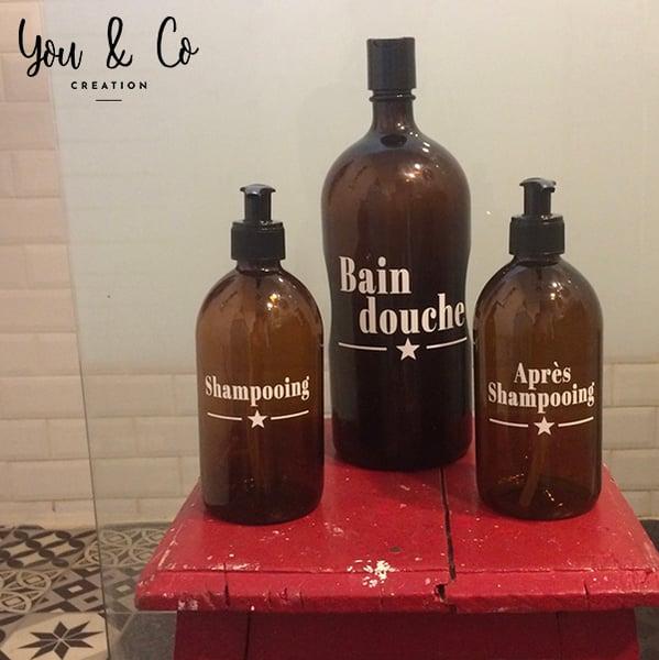 Image of Stickers produits salle de bain