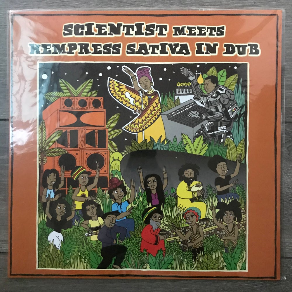 Image of Scientist Meets Hempress Sativa in DUB Vinyl LP