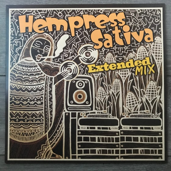 Image of Hempress Sativa - Extended Mix Vinyl 12""