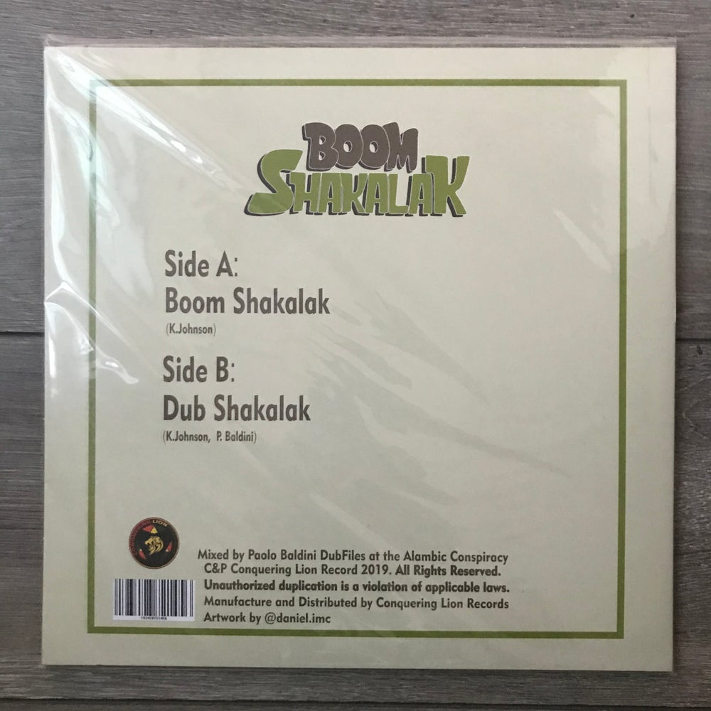 Image of Hempress Sativa - Boom Shakalak Limited Edition Vinyl 10""
