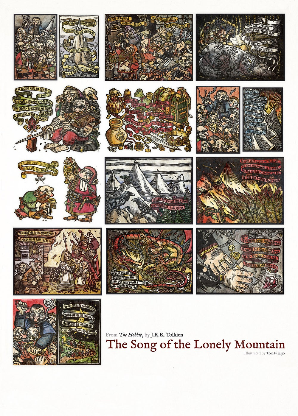 Image of The Song of the Lonely Mountain