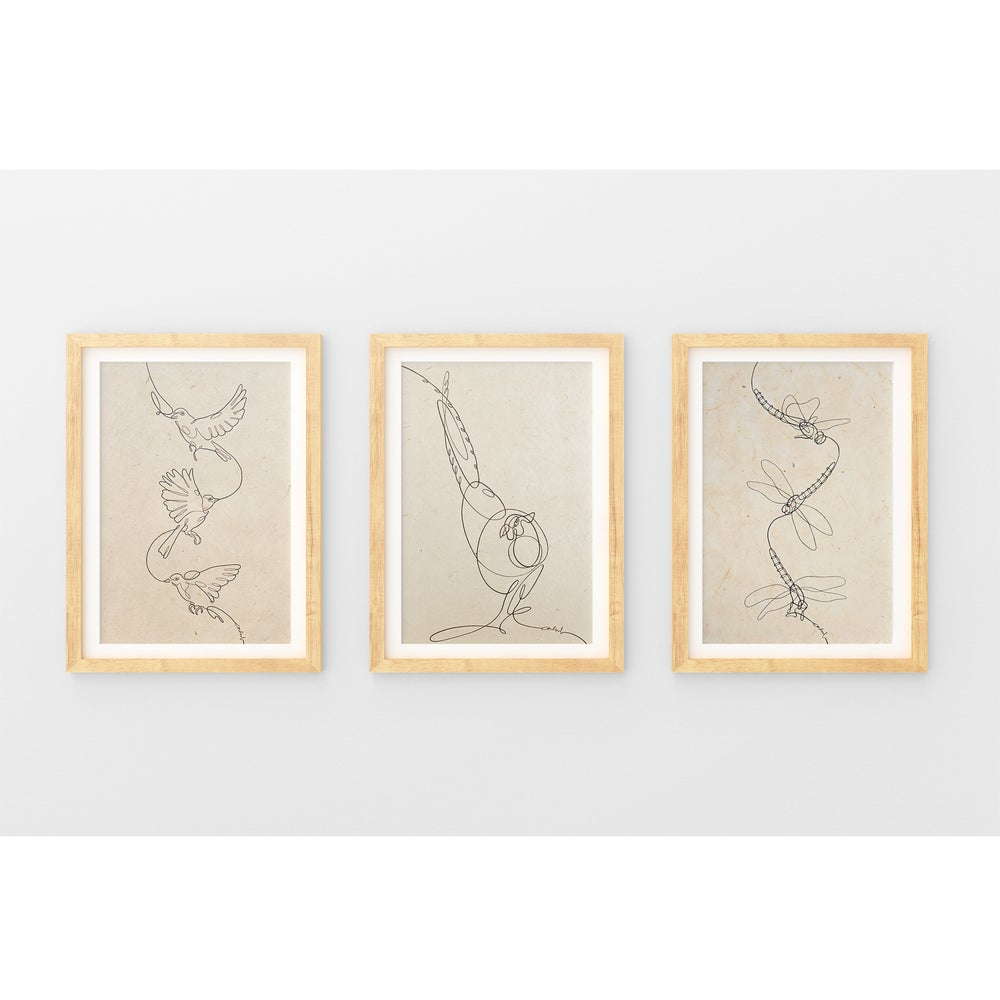 Image of Art Prints I One line drawings
