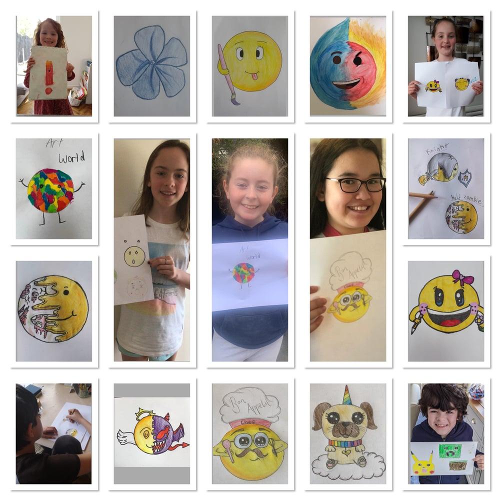 Image of Let's Create Online Art Club