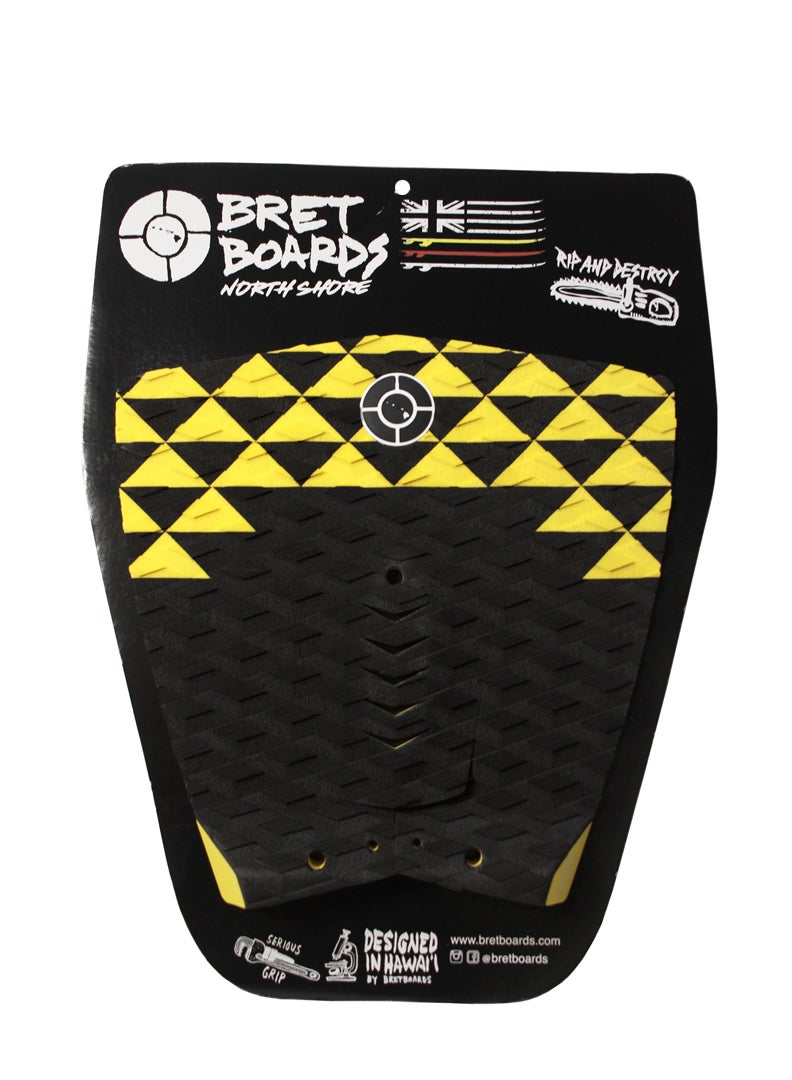 Image of Black & Yellow Triangle Traction Pad