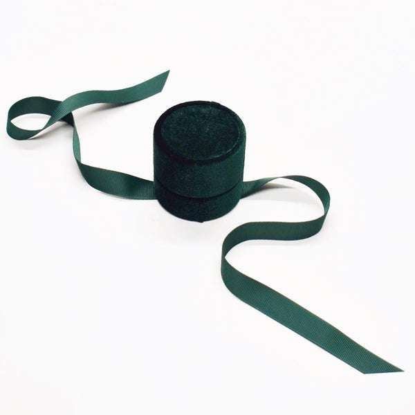 Image of Green Velvet Jewelry box