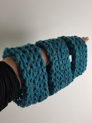 Image of Crochet Cowl neck scarf.