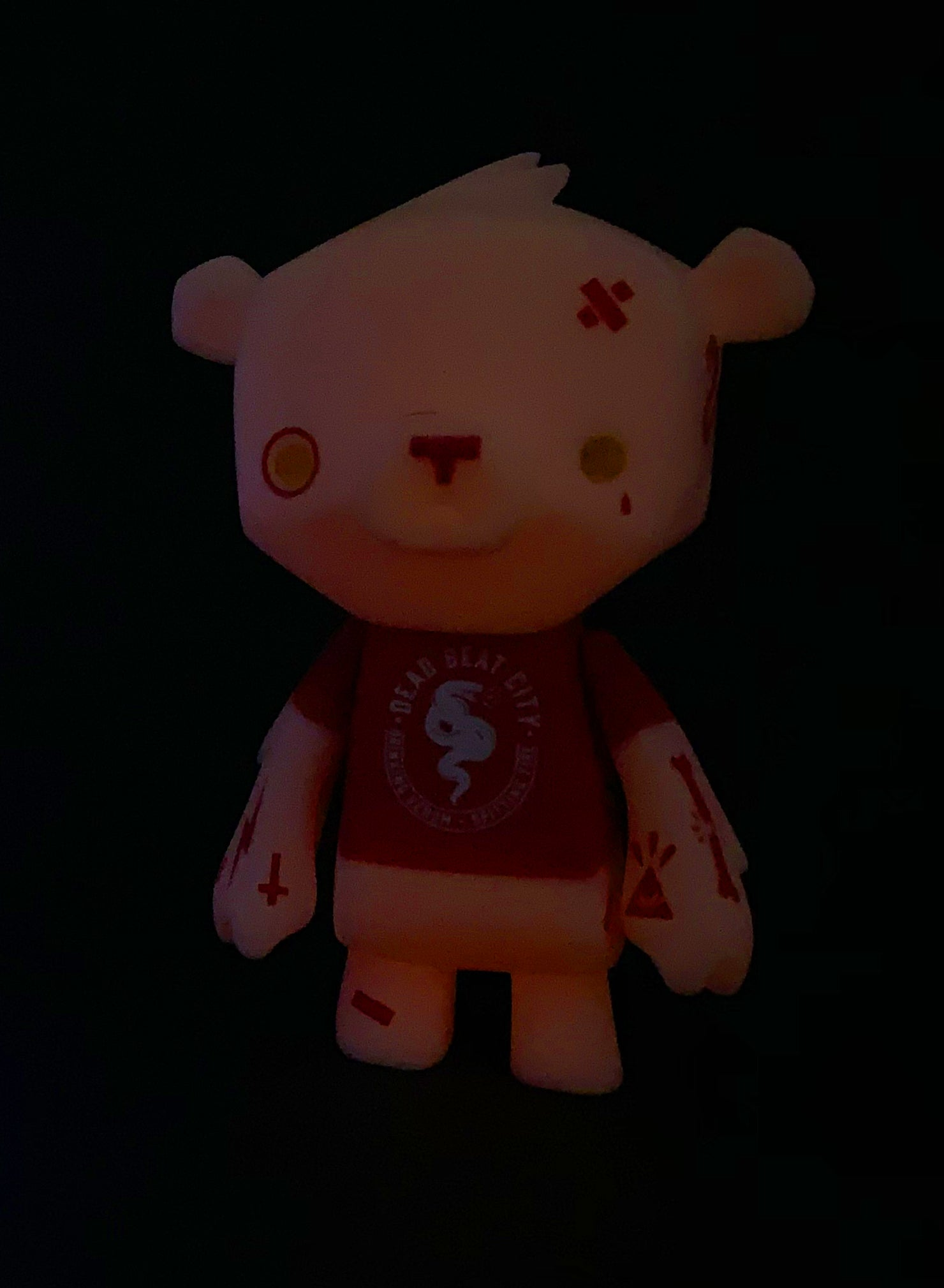 Image of RED BEAT BEAR
