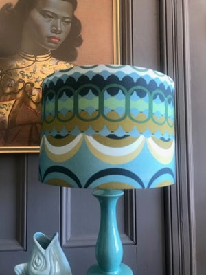 Image of Disc'O' Green/Blue Lampshade