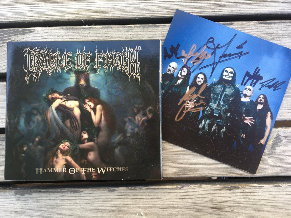 Image of Cradle of filth full signed digipack