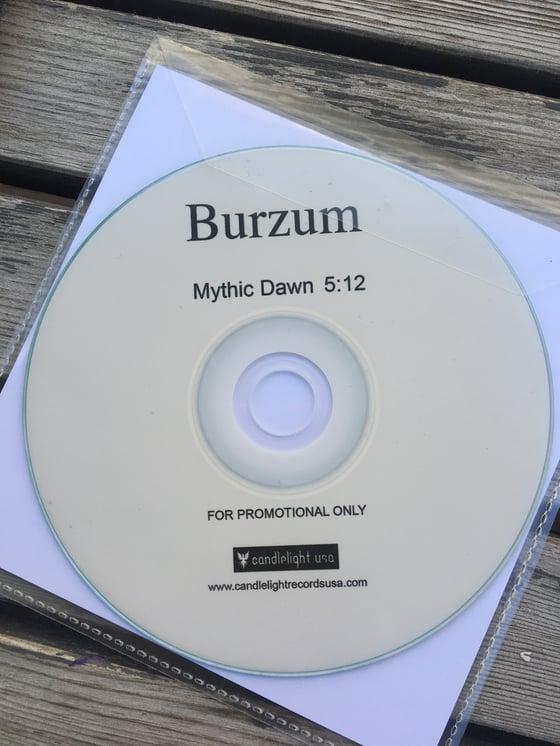 Image of Burzum mega rare promo