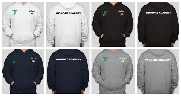 Image of Wigmore Academy Hoodie With Initials (Invitation Only Squads)