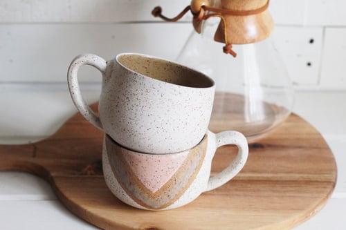 Image of Peach Vibes Cappuccino Mug
